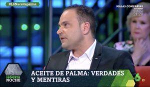 Ramón de Cangas habla sobre el aceite de palma
